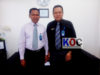 Pimpinan Cabang Bank Sulut-Go Kotamobagu Hi Buhari Mokoagow SE (kiri Pinca) dan Hi Kamaludin Zees SE (kanan Wapinca)
