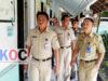 Sekot Tahlis Gallang SSTP, saat meninjau eks RSUD Datoe Binanggkang