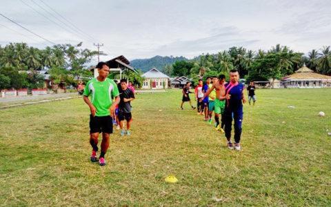 Sesi latihan Skuad Ilomata FC jelang pertandingan lawan Dumagin A FC