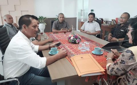 Komisi III DPRD Bolmong Datangi Kantor BNPB Pusat