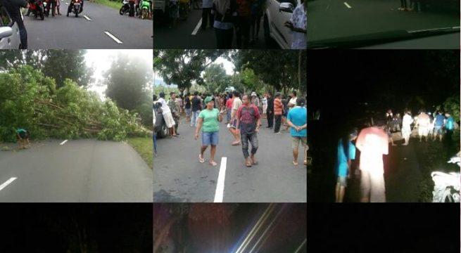 Buntut Kekecewaan Warga Tiberias Blokir Jalan Trans Sulawesi