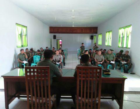 Kodim 1303 Bolmong Kedatangan Tim Was Ev Ster Dam VII Wirabuana