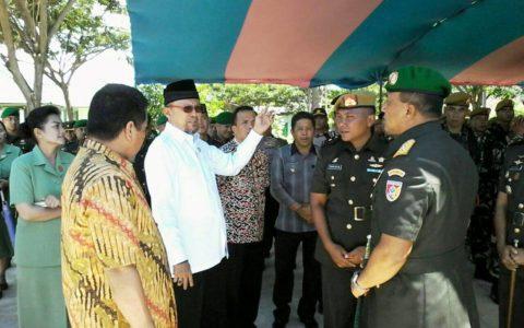 Pangdam VII Wirabuana Pimpin Sertijab Danyon Armed Bogani