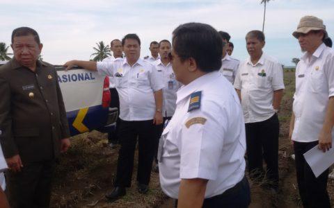 Tim Kemenhub RI Nilai Lahan Badara di Bolmong Layak