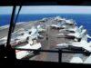 Menteri Pertahanan Philipina Tinjau Kapal Induk AS