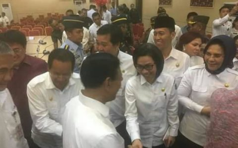 Bupati Bolmong Hadiri Rapat Kordinasi Menkopolhukam