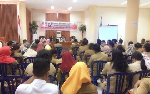 Dinkes Bolmong Bersama Kemenkes RI Sosialisasi Pencegahan Penyakit Kusta dan Frambusia