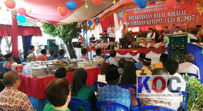 Wabup Hadiri Halal Bi Halal Di Kecamatan Bolaang