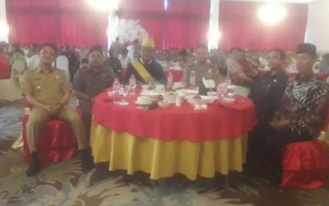 Kenal Pamit Kapolres Bolmong Bernuansa Adat Mongondow