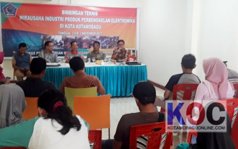 Disperindag Sulut Gelar Bimtek Wira Usaha di Kotamobagu
