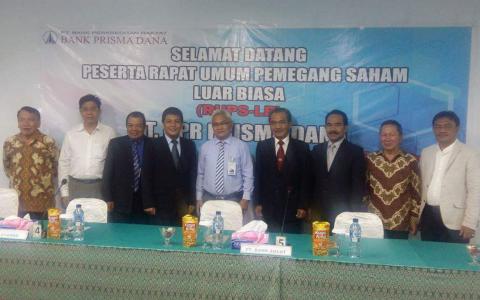 PT BPR Prisma Dana Lakukan Resposisi Pengurus
