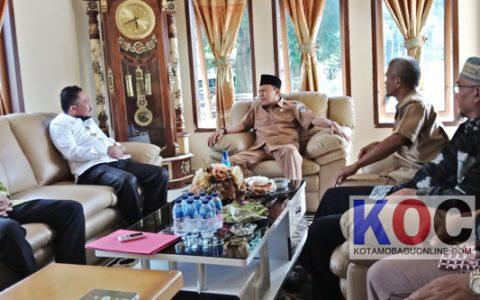 Herson Mayulu Silaturahmi ke Kediaman Ketua DPD Nasdem Bolmong