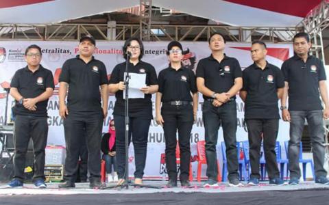 Ketua KPU Sulut: Hindari Penyebaran Beriata Hoax