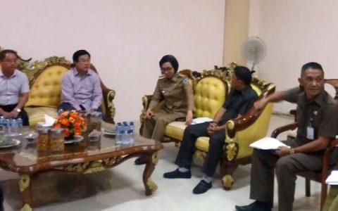 Pemkab Bolmong dan PT CNSC Sepakat Kerjakan Tenaga Kerja Lokal