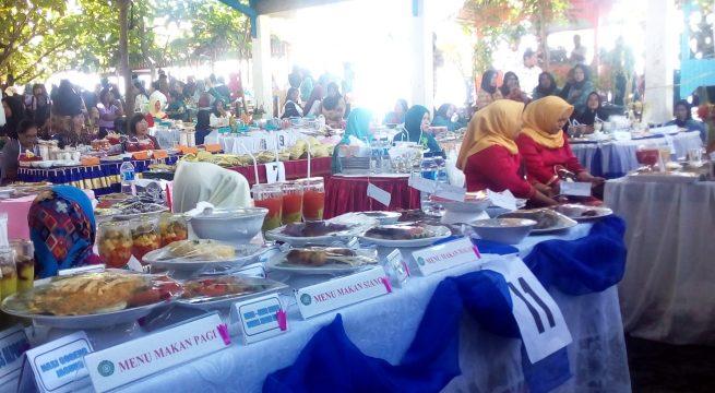 Lomba Cipta Menu Sajikan Makan Khas Mongondow