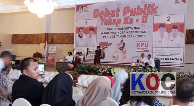 KPU Kotamobagu Gelar Debat Publik Kedua