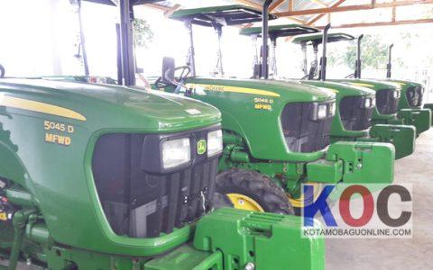 Muljadi: 5 Unit Traktor Roda Empat Untuk Petani Kotamobagu
