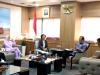 Percepat Pembangunan Bandara, Bupati Sambangi Menteri Perhubungan