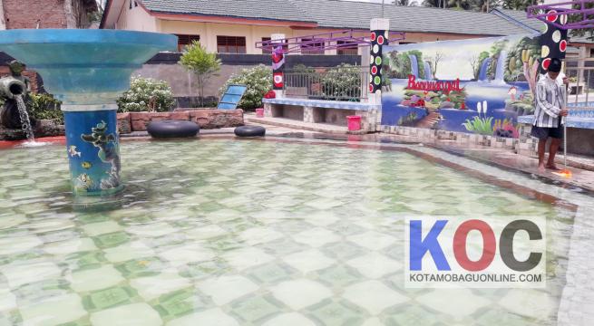 Banyuanget Wisata Pemandian Air Panas Baru di Kotamobagu