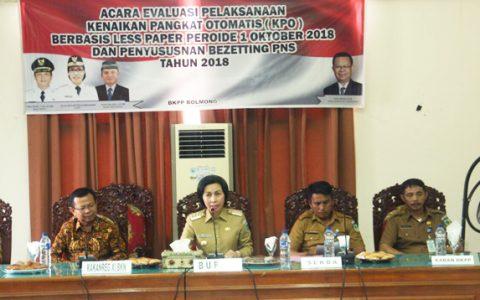 Pemkab Bolmong Terima Kuker BKN Regional XI Manado