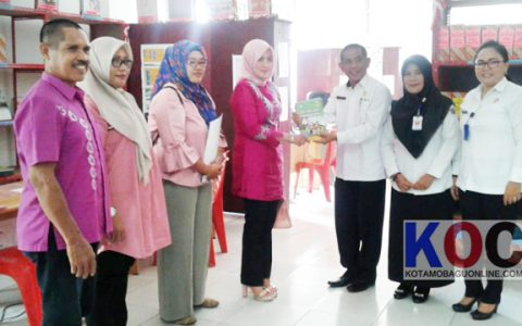 Komisi II DPRD Kabupaten Gorontalo Belajar di Perpustakaan Kotamobagu