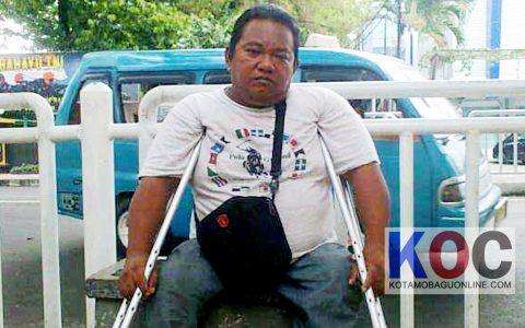 Lebih Dari 40 Tahun Menderita Cacat, Teddy tak Pernah Dapat Perhatian dari Pemprov Sulut