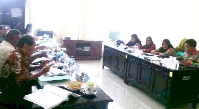 Dekab Pacu Pembahasan APBD di Tingkat Komisi