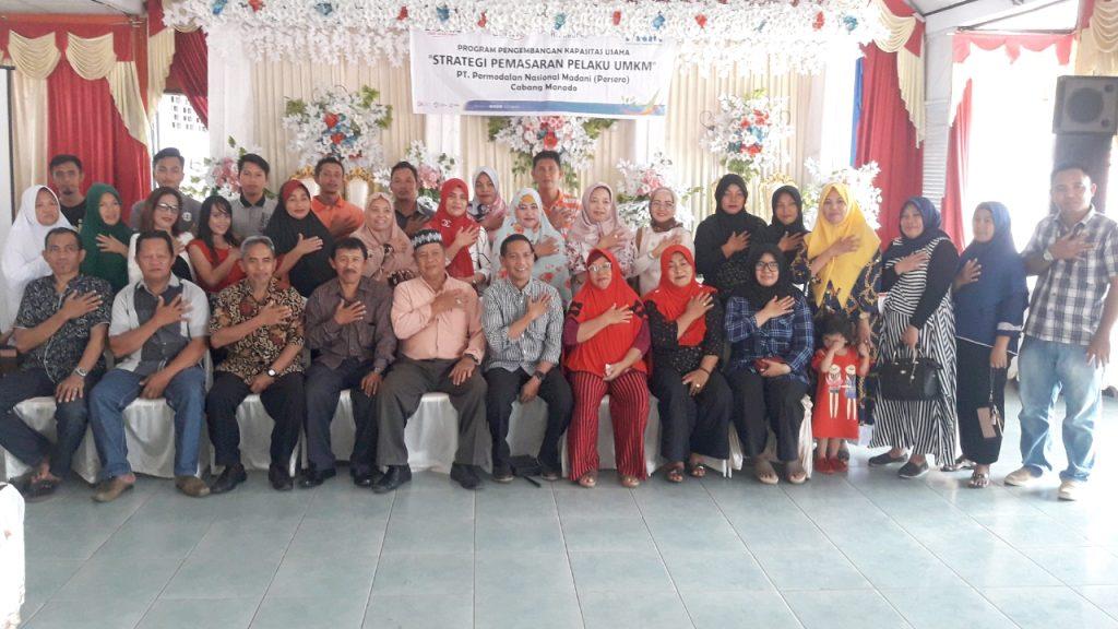 PT PNM Persero Cabang Manado Gelar Program PKU Strategi Pemasaran Pelaku UMKM