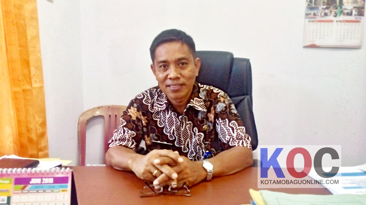 Kepala Dinas PPKB Bolmong I Ketut Kolak. (Foto: Jr)