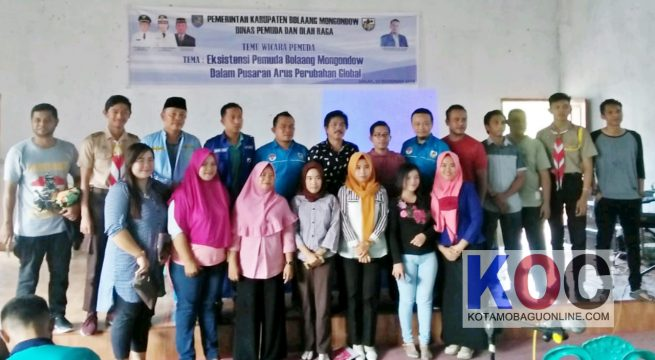 Dispora dan KNPI Akngkat Citra Pemuda Bolmong