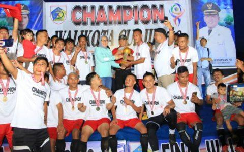 Tatong Bara Tutup Open Turnamen Wali Kota Cup III 2018