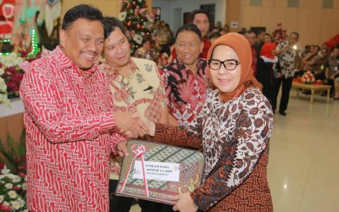 Wali Kota Terima DIPA dan Alokasi Dana Transfer Tahun 2019