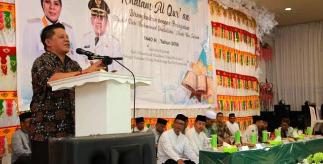 Nayodo Koerniawan Hadiri Khatam Al-Quran Ratusan Santri se – Kotamobagu