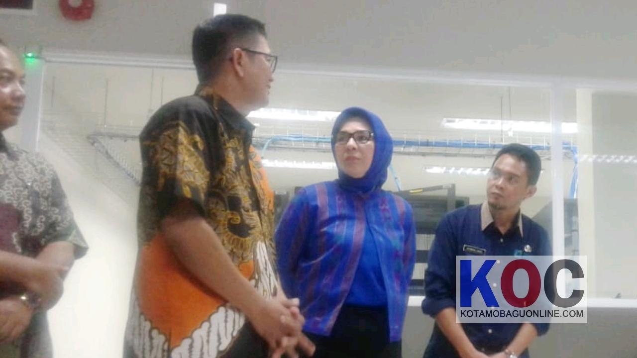 CEO BNI Wilayah Manado Kunjungi Data Center Kotamobagu
