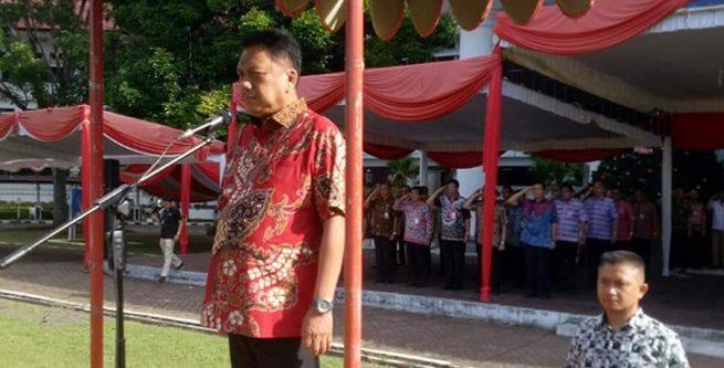 Gubernur Pimpin Apel Perdana 2019