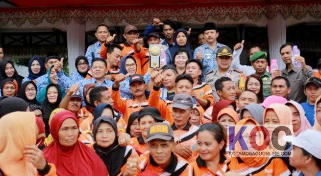 Wali Kota: Terima kasih Masyarakat Kotamobagu Teristimewa Petugas Kebersihan