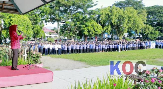 Apel Perdana 2019, Wali Kota Ingatkan SKPD Buka Kembali RKA