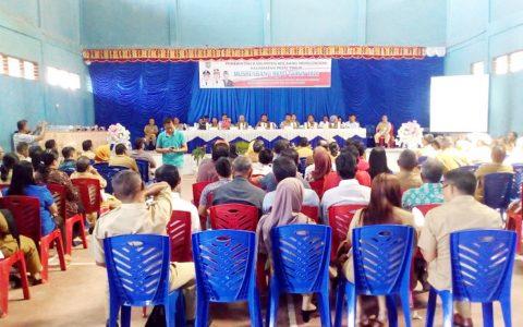 Sekda Bolmong Buka Musrenbang Tingkat Kecamatan