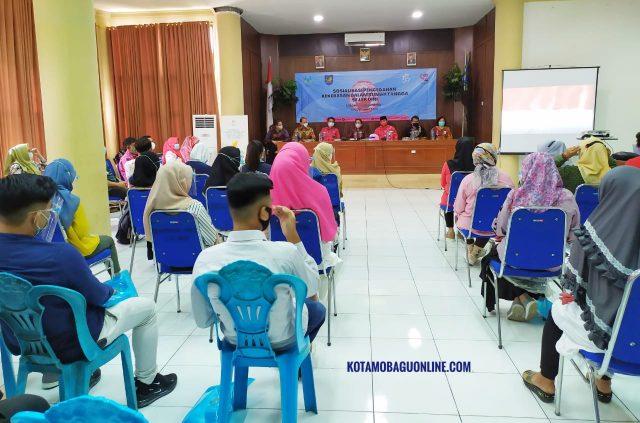 Kementerian PPPA RI Sosialisasikan Pencegahan KDRT Sejak Dini di Kabupaten Bolmong. (Foto: Istimewa)