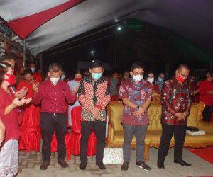 Suasana Perayaan Pra Natal Pemkab Bolmong. (Foto: Istimewa)